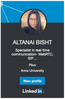Altanai Linkedin Profile
