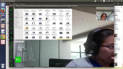 TFX screen-sharing