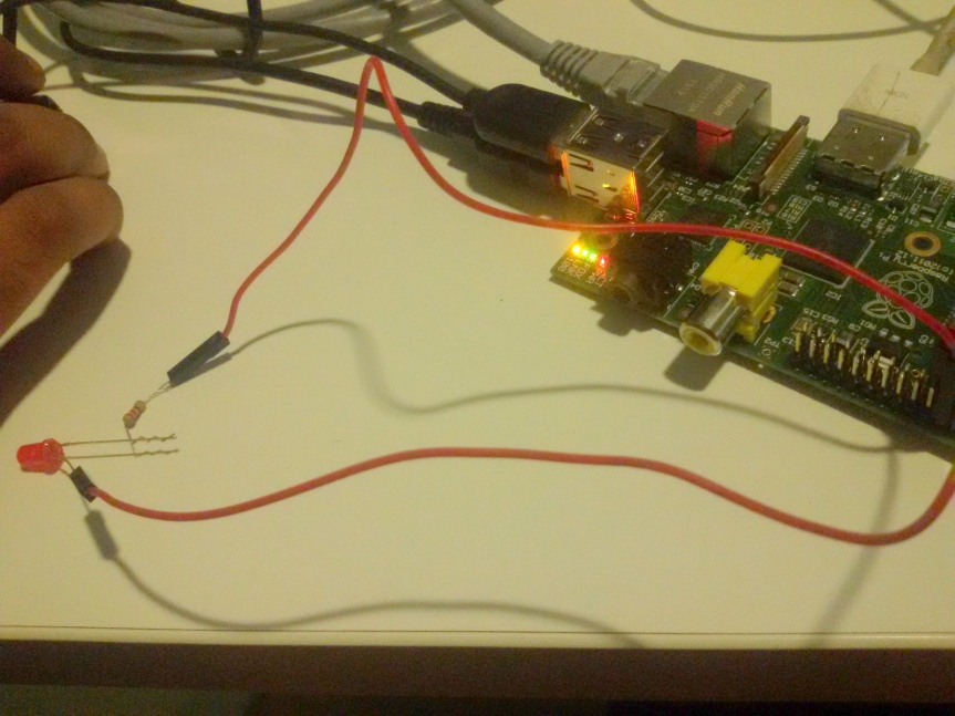 Remote machine control  via Raspberry pi