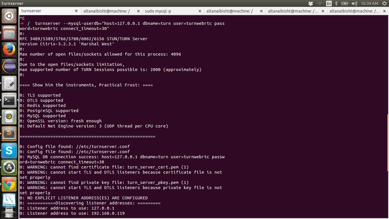March 2015 Telecom R D Wiringpi Install Ubuntu Turnservermysqldb