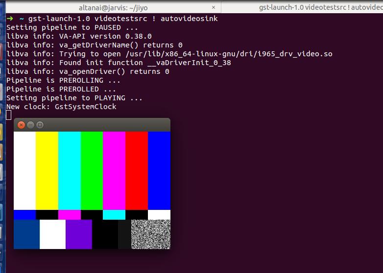GStreamer-1.8.1  rtsp server and client onubuntu