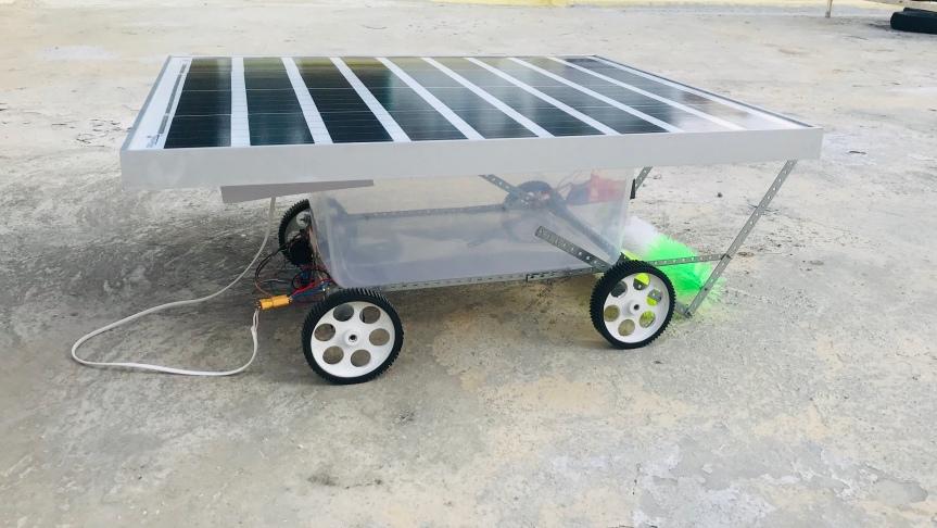 Surajdroid ( Ramudroid v7 Solar Powered)